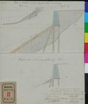 RT-III-284 Profieltekeningen voor de bazaltkade in de Boompjes (Fig. 1a en b.) en van de kade voor het overige gedeelte ...