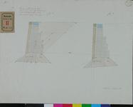 RT-III-285 Profieltekening voor de bazaltkade in de Boompjes (Fig. 1en 2.).