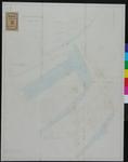 RT-IV-309-3 Kadastrale tekening van het tweede Nieuwe Werk, sectie A (3e, 4e en tegenwoordige stand).