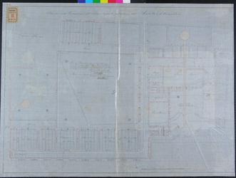 RT-IV-323-1 Plan voor de verbouwing van de eerste verdieping en de begane grond van het krankzinnigengesticht aan de ...