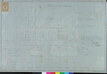 RT-IV-323-2 Plan voor de verbouwing van de tweede verdieping van het krankzinnigengesticht aan de Hoogstraat en het ...