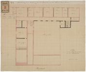 RT-IV-340-2 Plan voor de verbouwing van het ziekenhuis voor aan syphilis lijdende vrouwen aan de Hoogstraat. ...