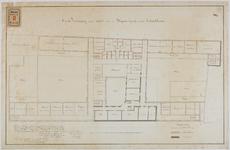 RT-IV-349-3 Plan voor het tweede gedeelte van de verbouwing van het krankzinnigengesticht aan de Hoogstraat ...
