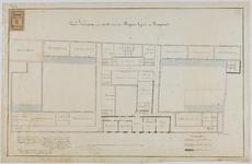 RT-IV-349-4 Plan voor het tweede gedeelte van de verbouwing van het krankzinnigengesticht aan de Hoogstraat ...