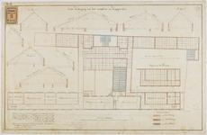 RT-IV-349-5 Plan voor het tweede gedeelte van de verbouwing van het krankzinnigengesticht aan de Hoogstraat ...