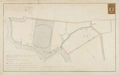 RT-IV-352 Kadastrale kaart van de Algemene Begraafplaats Crooswijk en omliggende percelen.