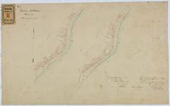 RT-V-414-1 Kadastrale kaart van de Rottekade in oorspronkelijke staat van 1830.