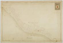 RT-V-414-2 Kadastrale kaart van de Rottekade in oorspronkelijke staat van 1830.