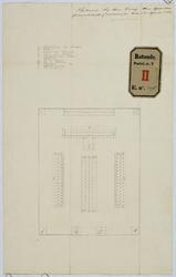 RT-V-443-3 Tekening van een te bouwen abattoir.