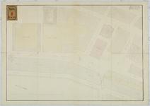 RT-V-449 Plattegrond van het plein achter het Museum Boijmans, bestemd voor een gebouw voor het onderwijs aan de ...