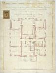 RT-V-463-1 Plattegrond voor het aanleggen van de heetwaterverwarming op het soutterain, het Museum Boijmans aan de ...
