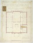 RT-V-463-3 Plattegrond voor het aanleggen van de heetwaterverwarming op de 1ste verdieping, het Museum Boijmans aan de ...