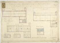 RT-V-466-3 Plattegrond voor een te bouwen bewaarschool aan de Hugo de Grootstraat (ontwerptekening).