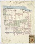 RT-VI-488 Plattegrond behorend bij een rapport over bouwen van een woning voor de directeur van het ziekenhuis aan de ...