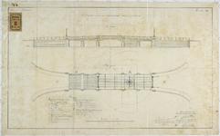 RT-VI-501-4 Ontwerptekening voor de verbouwing van de Levuebrug.