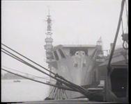 BB-0224 Het oude vliegdekschip Karel Doorman gaat naar de sloop. Speelduur: 35 sec.