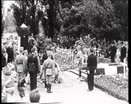 BB-0310 Uitvaartplechtigheid op Algemene Begraafplaats Crooswijk ter nagedachtenis aan de militairen die bij de ...