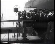 BB-0337 Indienststelling onderzeeër KXVI in dok. Speelduur: 1 min. 35 sec.