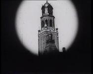 BB-0486 Rijtuig nadert stadhuis vanaf de Kruiskade. Speelduur: 25 sec.