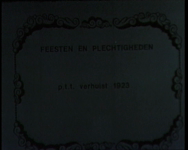 BB-0670 Postharmonie op de Grote Markt; het Hang; gevel postkantoor Blaak; Beursplein en Noordblaak; de binnenplaats ...