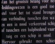 BB-0724 Het reddingswezen te Hoek van Holland en Ter Heide; paarden trekken reddingboten uit loodsen naar zee; ...
