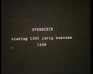 BB-0779 Optocht en andere feestelijkheden bij herdenking 1000-jarig bestaan Overschie. Ereboog, Hoge Brug, optocht van ...