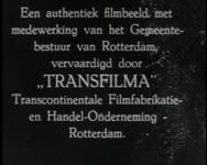 BB-0928 Geschiedenis van Rotterdam aan de hand van animaties en tekstblokken. Ligging van de stad; stadsgroei en ...