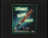 BB-1125 00:00:04 Ahrend's Vulpen Hoekje, Nieuwe Binnenweg 317 00:00:12 U slaagt bij Au Goût Artistique 00:00:22 ...