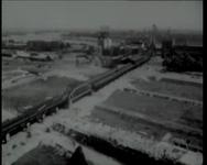 BB-1253 Koningin legt eerste steen voor de herbouw van de Sint-Laurenskerk. Speelduur: 4 minuten