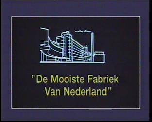 BB-1549 Documentaire met voice-over over de Van Nelle fabriek waarin de geschiedenis van het bedrijf, idealistische ...