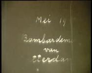 BB-3765 Na de verwoesting (door het bombardement van 14 mei 1940) van de wijnhandel NV van den Heuvel & Co. aan de ...