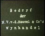 BB-3766 Beelden van het kantoor van Wijnhandel v.d. Heuvel aan de Oostzeedijk, interieurs van de kantoren. Het ...