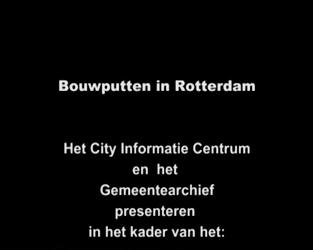 BB-4084 Fragmenten uit collectie Gemeentearchief ten behoeve van City Informatiecentrum: BB-0869 (stom): bouw van ...