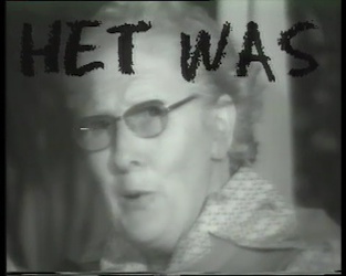 BB-5110 Portret van Rotterdam door dichter Jules Deelder met shots van Deelder op diverse locaties in de stad en ...