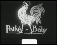 BB-7535 Pathé Baby oplage-film met tussentitels over de Franse spoorwegen. Een verhaal over treinen en stations.