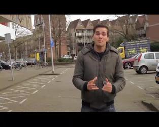 BB-7676-2 Studentenfilm Willem de Kooning Academie. Promotiefilm voor het Stadsarchief bedoeld voor kinderen. NIET ...