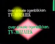 BB-3822 Televisieprogramma`s van de algemene en Antilliaanse redacties van TV Mozaïek. Tweede uitzending van TV ...
