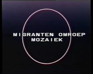 BB-4850 Televisieprogramma Nos Televishion van de Antilliaanse redactie van TV Mozaïek, Nederlands gesproken. Reportage ...