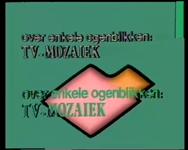BB-4853 Televisieprogramma van de algemene en Kaapverdiaanse redacties van TV Mozaïek. Impressie van Poetry Park 1984. ...