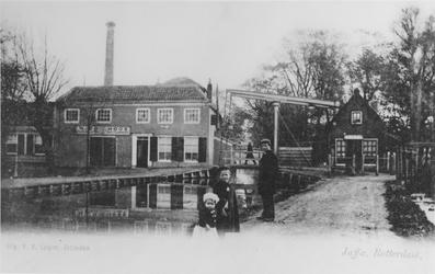 1968-2610 Gezicht op het Kralingse Verlaat.