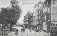 1986-1416 De Galerij.Op de achtergrond het spoorwegviaduct.