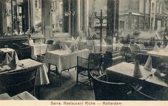 PBK-10011 De serre van café-restaurant Riche aan de Korte Hoogstraat.