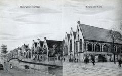 PBK-1022 Twee afbeeldingen van de Botersloot op één prentbriefkaart.