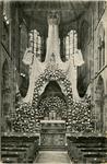 PBK-10328 De Maria-versiering in de maand mei 1930, in de Redemptoristenkerk aan de Goudse Rijweg.