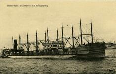 PBK-10343 Grangesberg, vrachtschip van rederij Wm. H. Müller in de Maashaven.