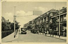 PBK-10349 Schielaan met links het huis van de burgemeester.