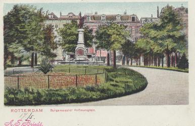 PBK-1075 Fontein aan het Burgemeester Hoffmanplein.