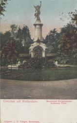PBK-1076 Monument - fontein aan het Burgemeester Hoffmanplein.