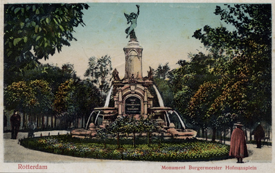 PBK-1080 Monument - Fontein aan het Burgemeester Hoffmanplein.