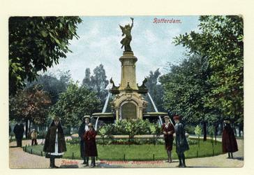 PBK-1091 Gezicht op het monument aan het Burgemeester Hoffmanplein.